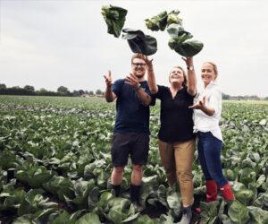 Culinary Council-medlemmer Kristian Frederik Bruun og Tina Fugl sammen med Zanne Burø