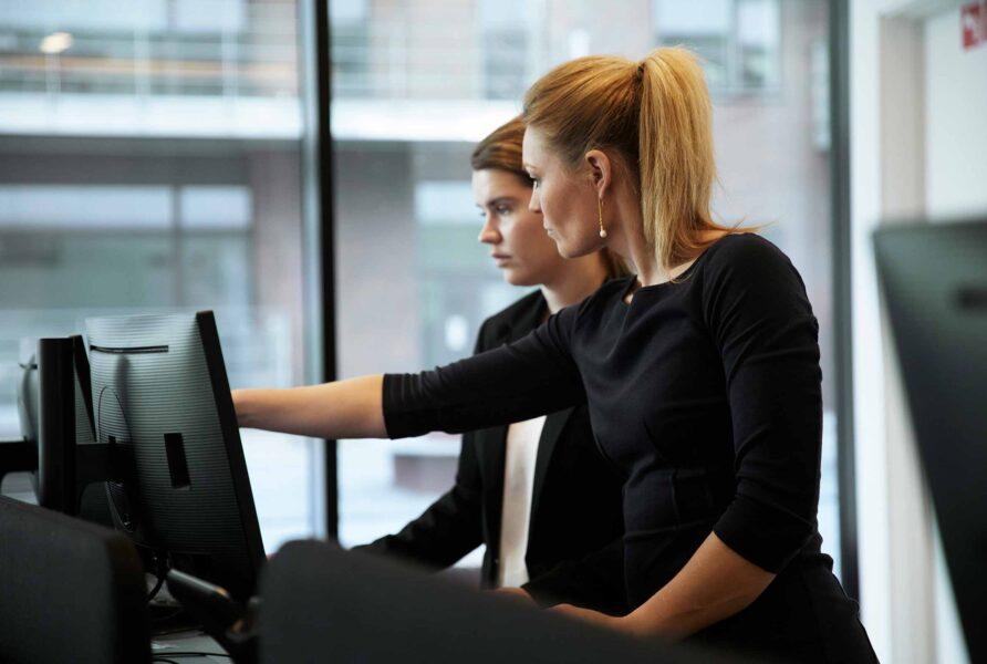 reception-kvinder-arbejde-compass-group